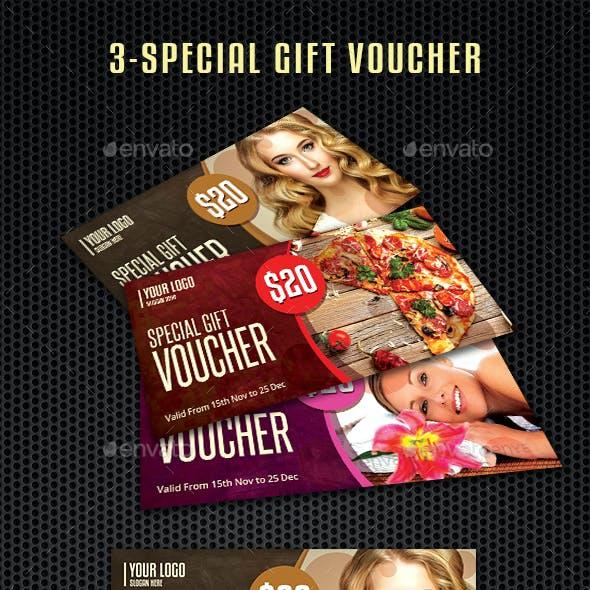 Gift Vouchers Template