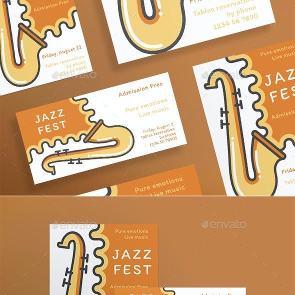 Jazz Festival Flyers
