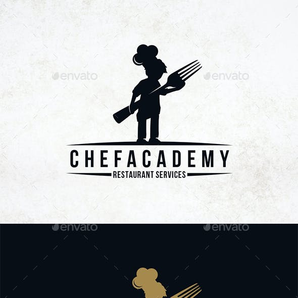 Mini Chef Logo Template