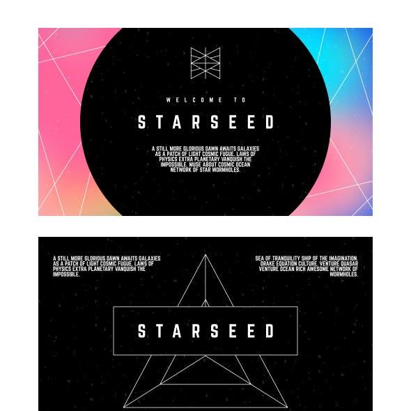 StarSeed - Geometric Keynote Template