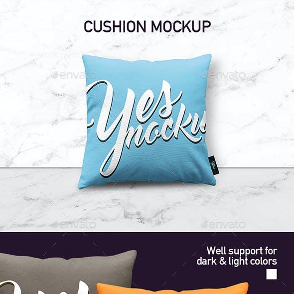 Fabric Pillow Mock up
