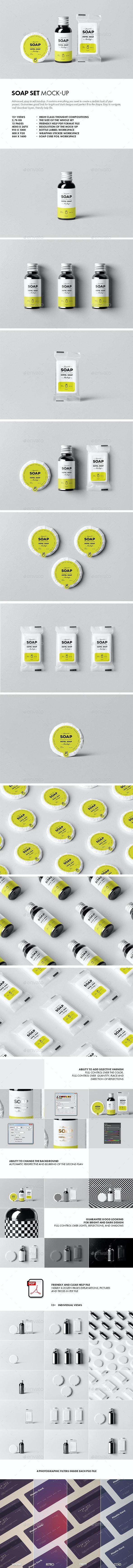 Soap Mock-up - Beauty Packaging