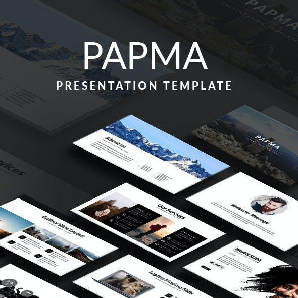 Papma Presentation Template