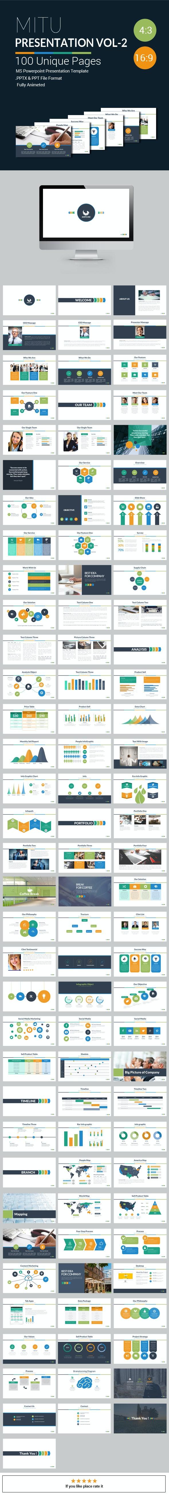 Mitu Powerpoint Presentation Template Vol - 2 - Creative PowerPoint Templates