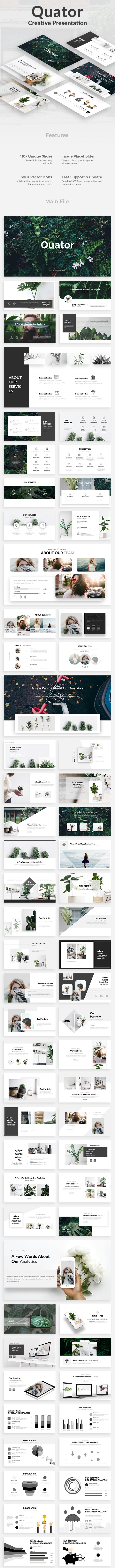 Quator Creative Google Slide Template