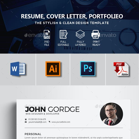 3 Pages Resume Templates