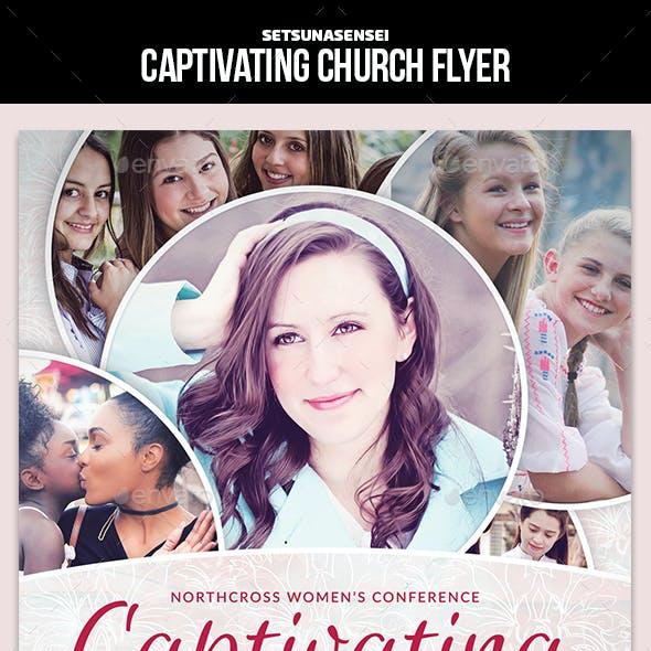 Captivating Church Flyer