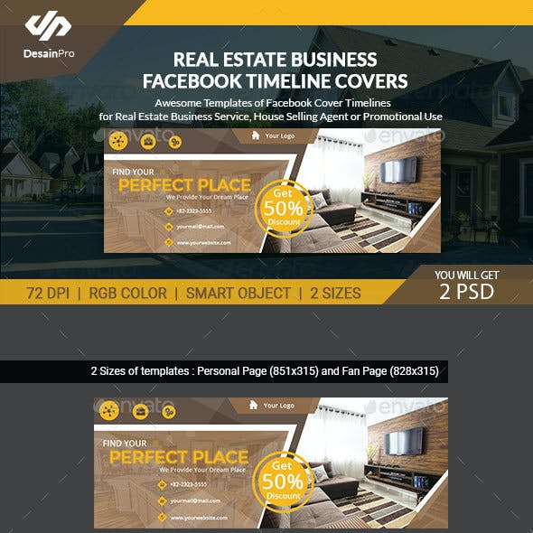 Facebook Cover Facebook Timeline Covers from GraphicRiver