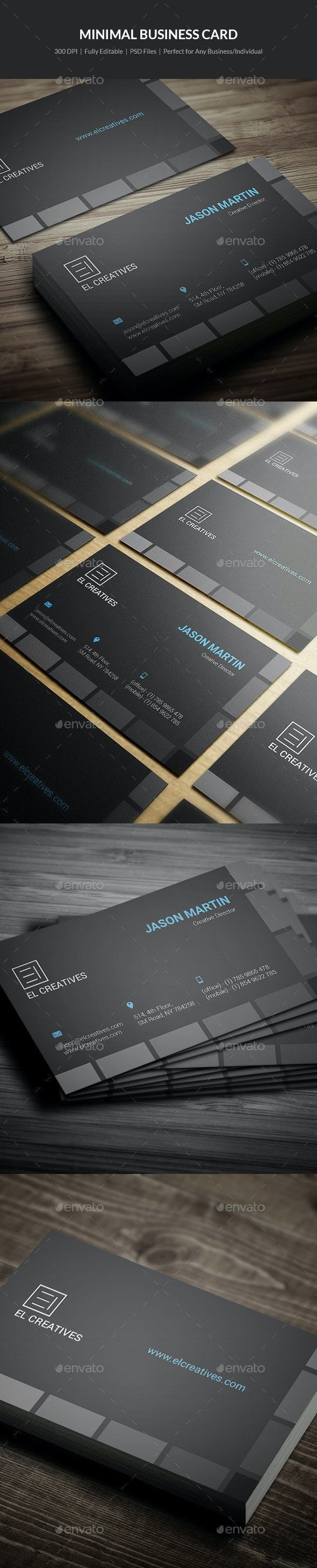 Creative Business Card - 02 - Corporate Business Cards