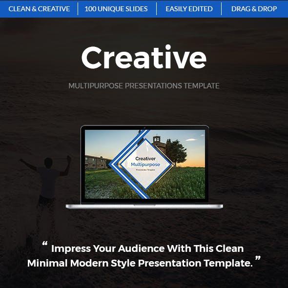 Creative - Multipurpose Powerpoint Template