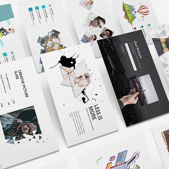 Alive Creative Powerpoint Template