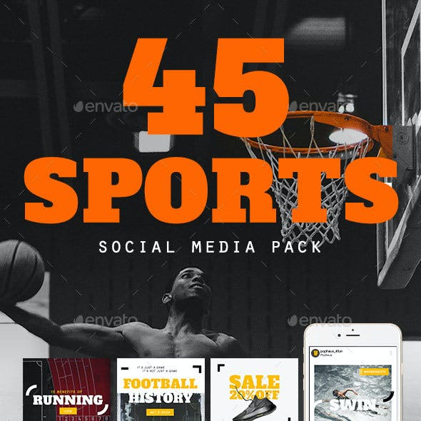 Sports Social Media Template Pack