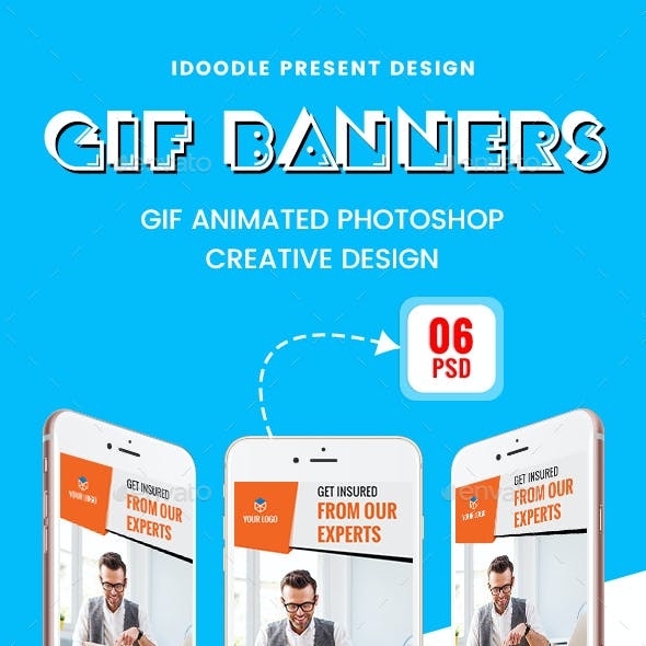 Animated GIF Multipurpose Banner Ads