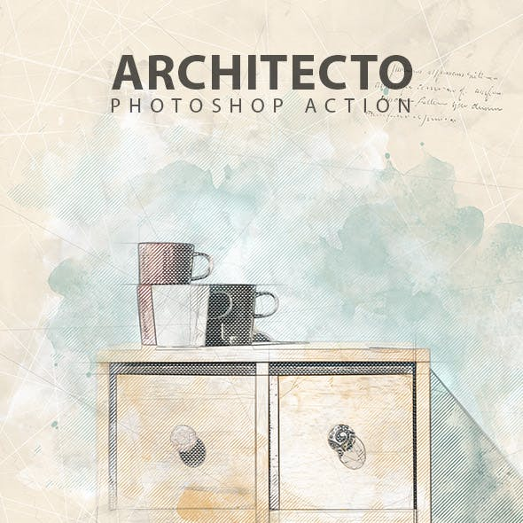 Architecto Photoshop Action