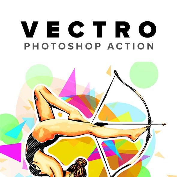 Vectro Photoshop Action
