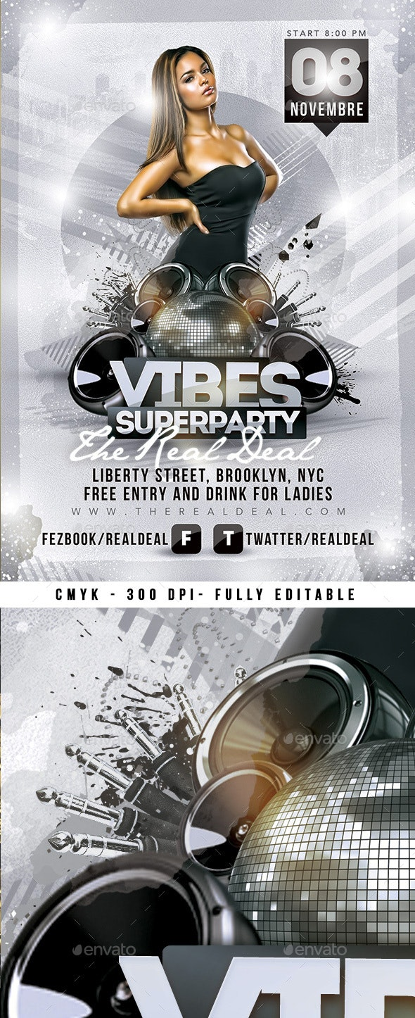 Vibes Superparty - Clubs & Parties Events