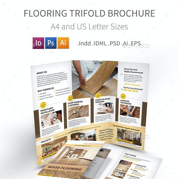 Flooring Service Trifold Brochure