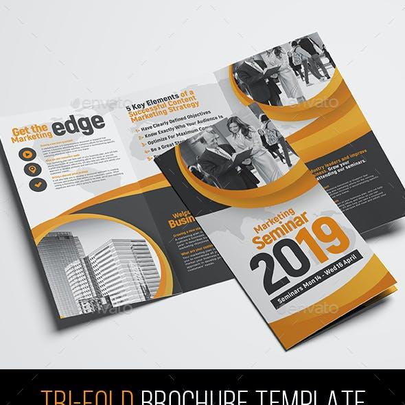 Corporate Event Tri-Fold Brochure