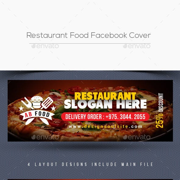 Restaurant Food Facebook Cover