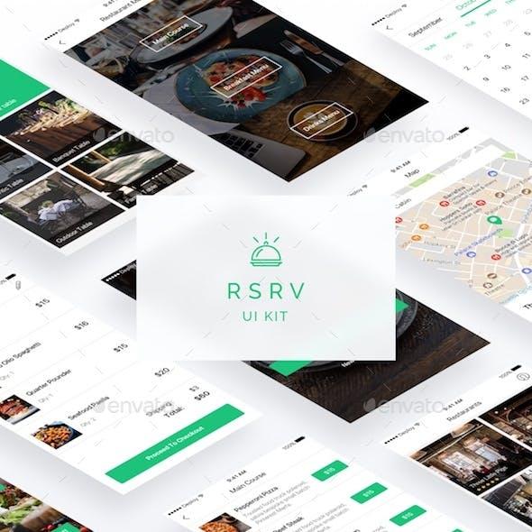 RSRV iOS UI Kit