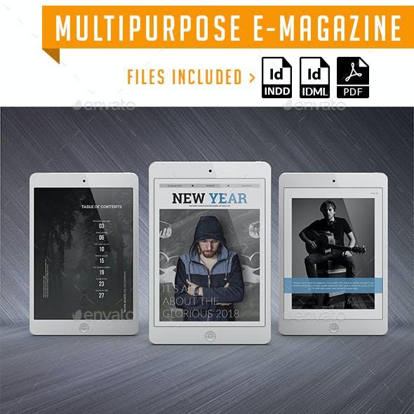 Multi purpose E-Magazine