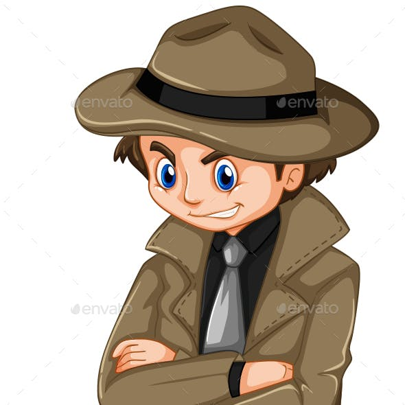 Man in Overcoat