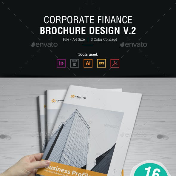 Corporate Brochure Design v2