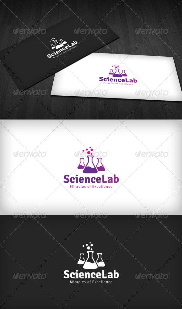 Science Lab Logo - Symbols Logo Templates