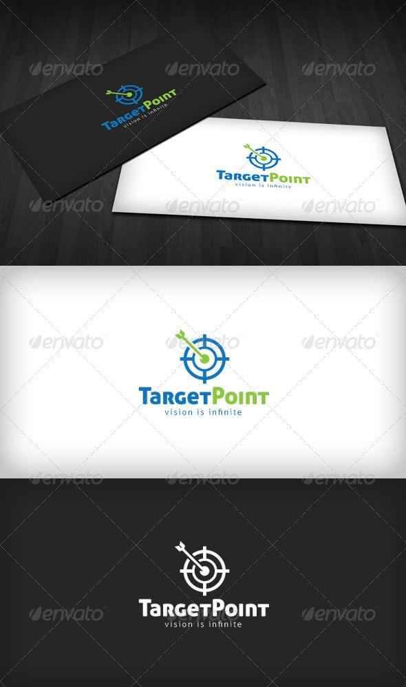 Target Point Logo - Symbols Logo Templates
