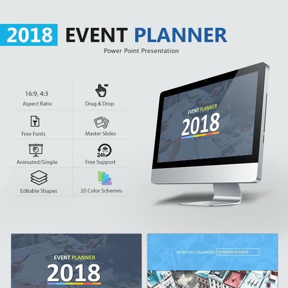 Event Planner 2018 Presentation