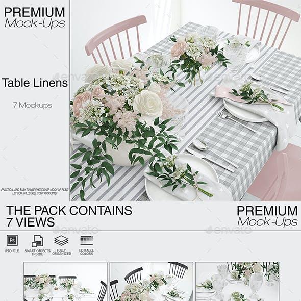 Tablecloth, Runner & Napkins
