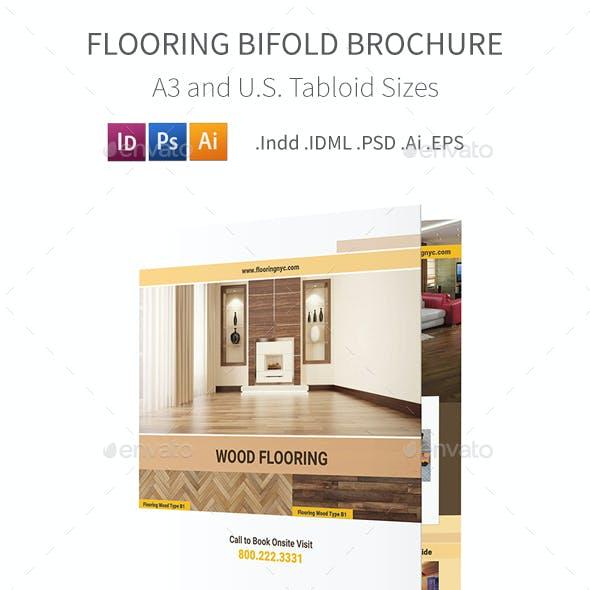 Flooring Service Bifold / Halffold Brochure