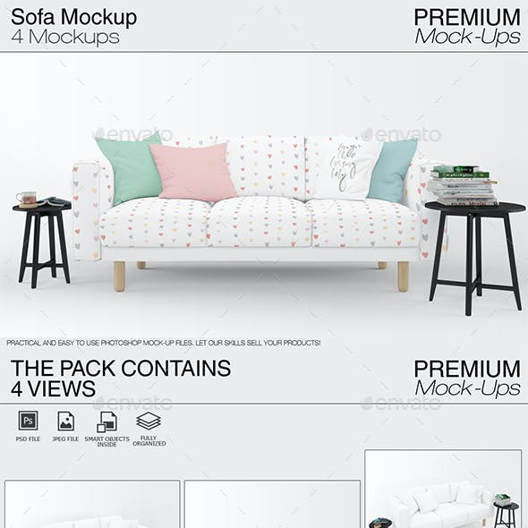 Sofa Textile Graphics Designs Templates From Graphicriver