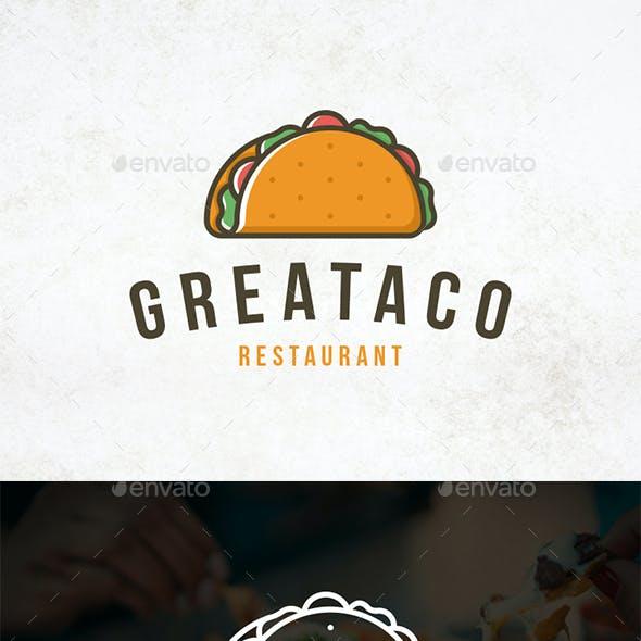 Delicious Taco Logo Template