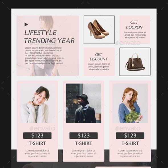 Fashion Sale Promotion Flyer