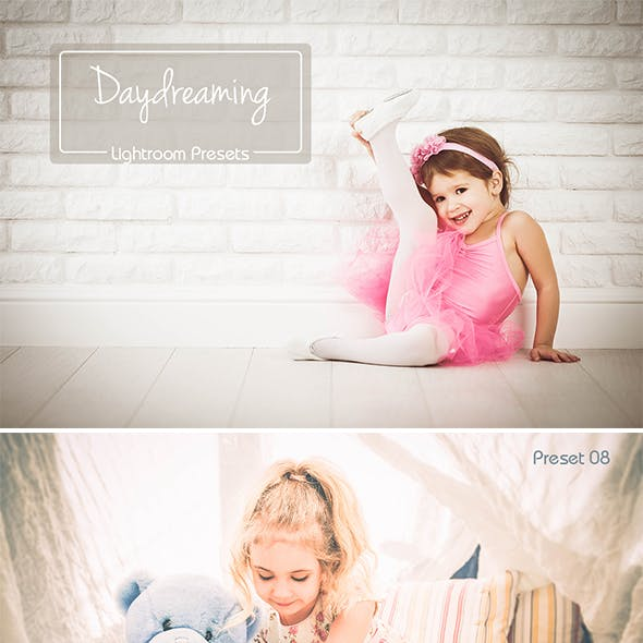 "20 Lightroom ""Daydreaming"" Presets"