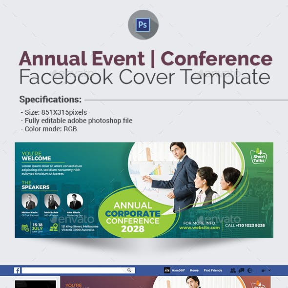 Annual Event/Conference Facebook Cover