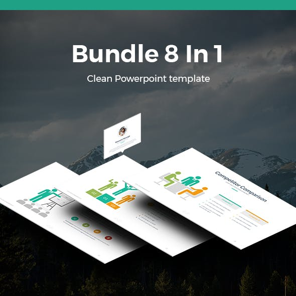 Bundle 8 In 1 Business Powerpoint Template