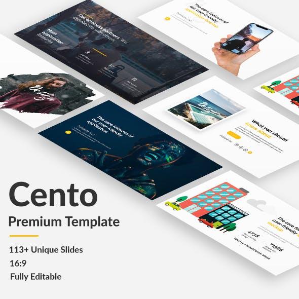 Cento Design Premium Keynote Template
