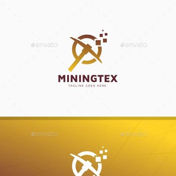 Mining Technology Crypto Logo