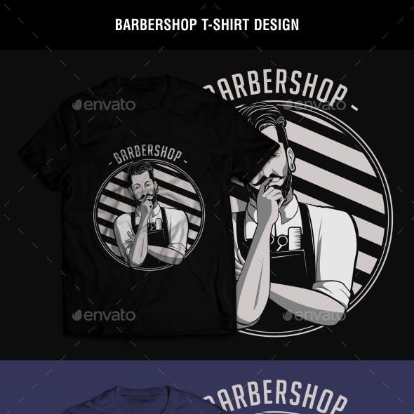 Barbershop T-Shirt Design