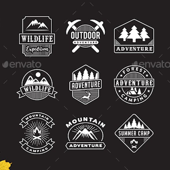 9 Adventure Logo & Badge