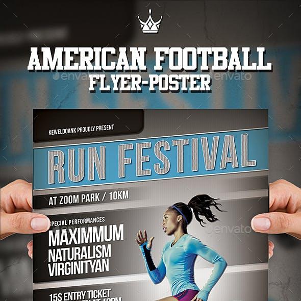 Run Festival Flyer / Poster