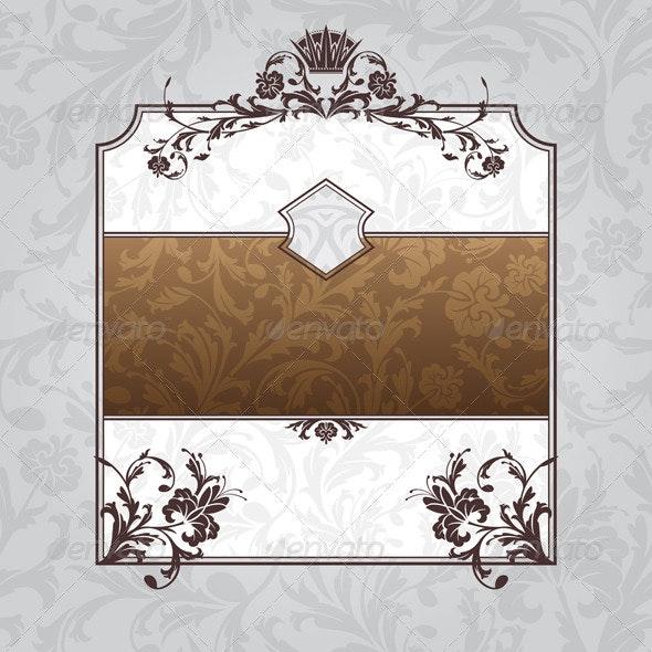 Royal Ornate Vintage Frame - Borders Decorative