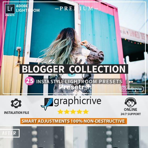 25 Pro Blogger Presets