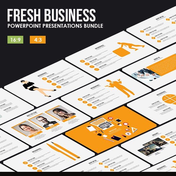 Fresh Business Powerpoint Bundle