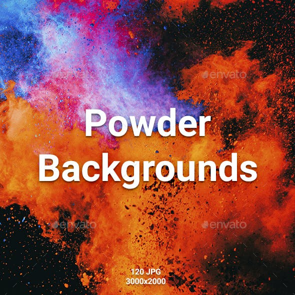 120 Powder Backgrounds