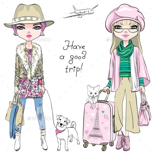 Fashion Girls Travel the World
