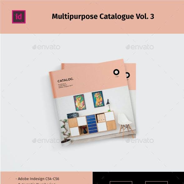 Multipurpose Square Catalogue Vol.3
