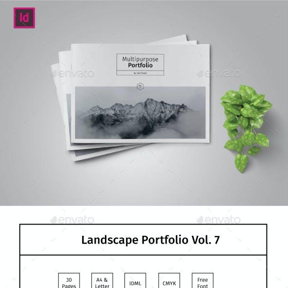 Multipurpose Landscape Portfolio Template Vol.7
